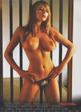 Keeley Hazell nude showing of her big breasts in 2009 calendar