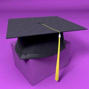 Startling Graduation Cap 3d Model Obj 3ds Fbx C4d Graduation Cap Cake Images Graduation Cap Images Hd