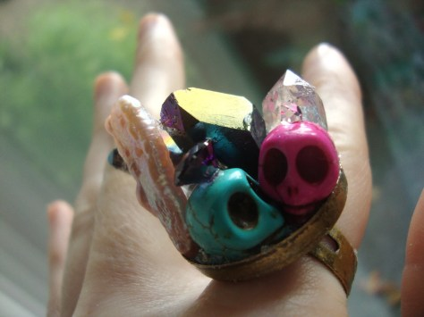 Hodge podge day of the dead ring