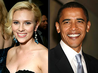 The New Obama Girl: Scarlett Johansson | Barack Obama, Scarlett Johansson