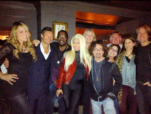 Nicki Minaj & Keith Urban Officially Join American Idol| American Idol, Keith Urban, Mariah Carey, Nicki Minaj, Randy Jackson, Actor Class
