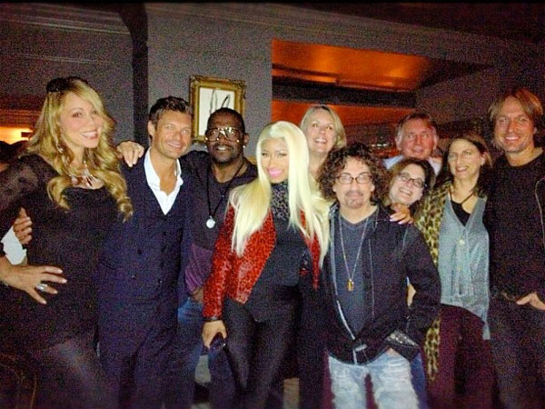 Nicki Minaj & Keith Urban Officially Join American Idol  American Idol, Keith Urban, Mariah Carey, Nicki Minaj, Randy Jackson, Actor Class