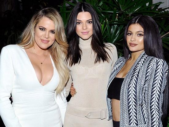 Khloe Kardashian, Kendall Jenner, and Kylie Jenner