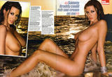 Alice Goodwin strips naked at the beach for Zoo magazine - 24th July 2009 - UHQ Scans