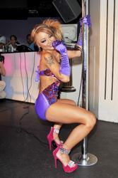 Tila Tequila leggy and cleavay in whorish outfit performs her debut single at Strawberry Moon in London - Hot Celebs Home