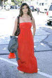 Brittny Gastineau cleavagy in red dress as she attends 'John Varvatos 7th Annual Stuart House Benefit - Hot Celebs Home