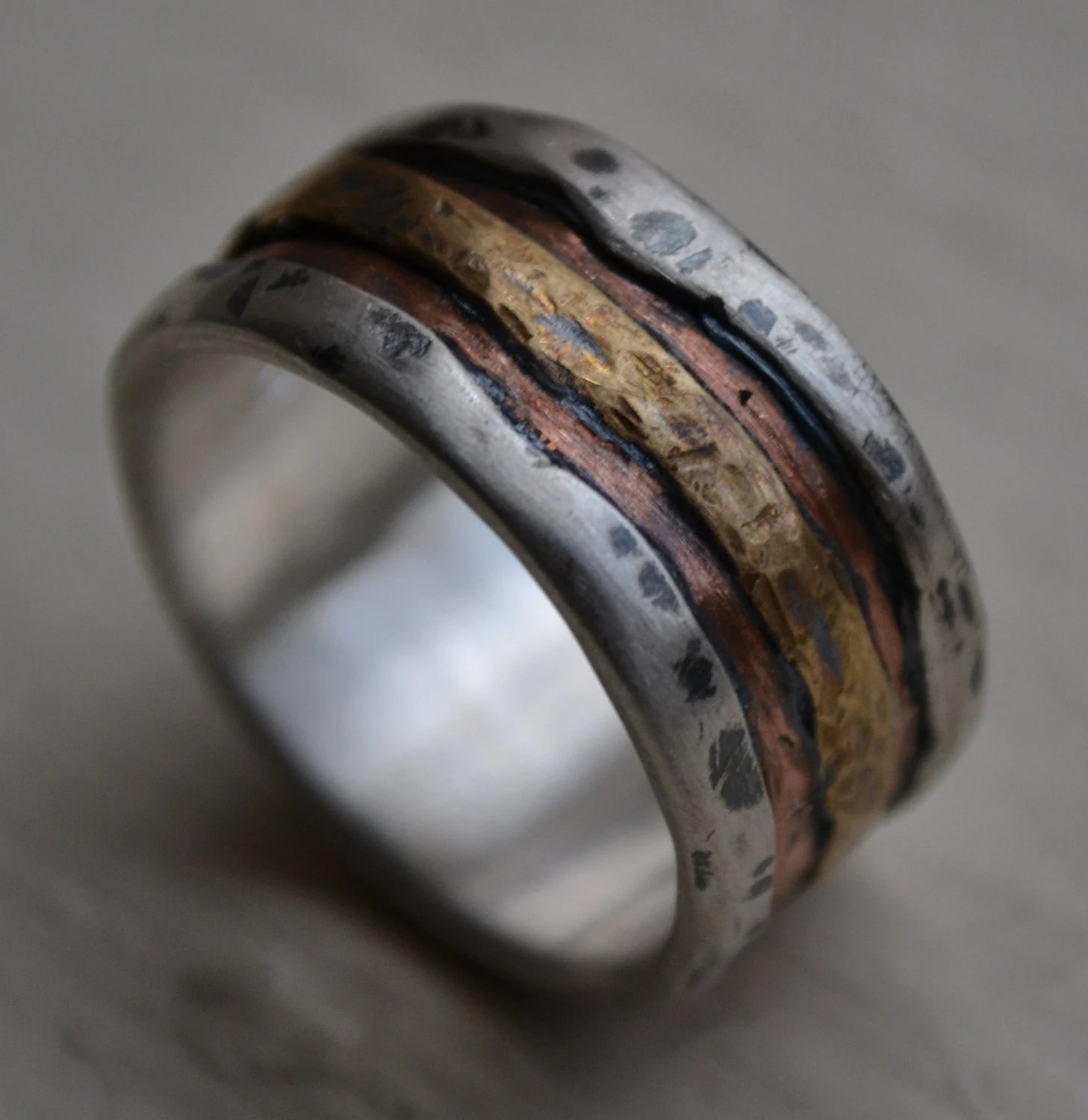 my ideas for our wedding wood wedding rings 27 best images about My ideas for our wedding on Pinterest Copper Titanium rings and Casual groom attire