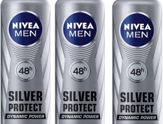 Nivea Men 48h Silver Protect Dynamic Power Anti-Perspirant ( Pack of 3 ) Deodorant Spray