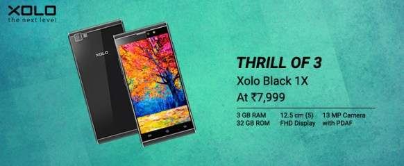 XOLO Black 1X Mobile