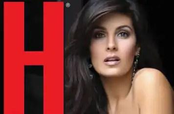 Mayrín Villanueva sin pudor en Revista H