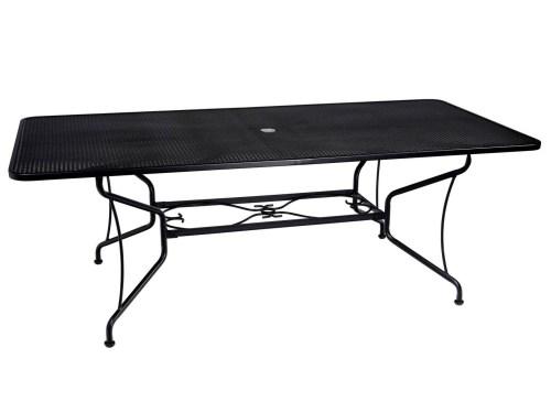 Medium Of Wrought Iron Table