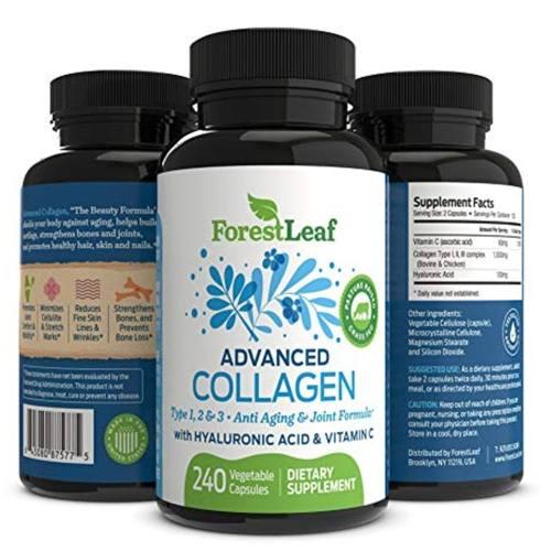 Medium Of Collagen For Hair