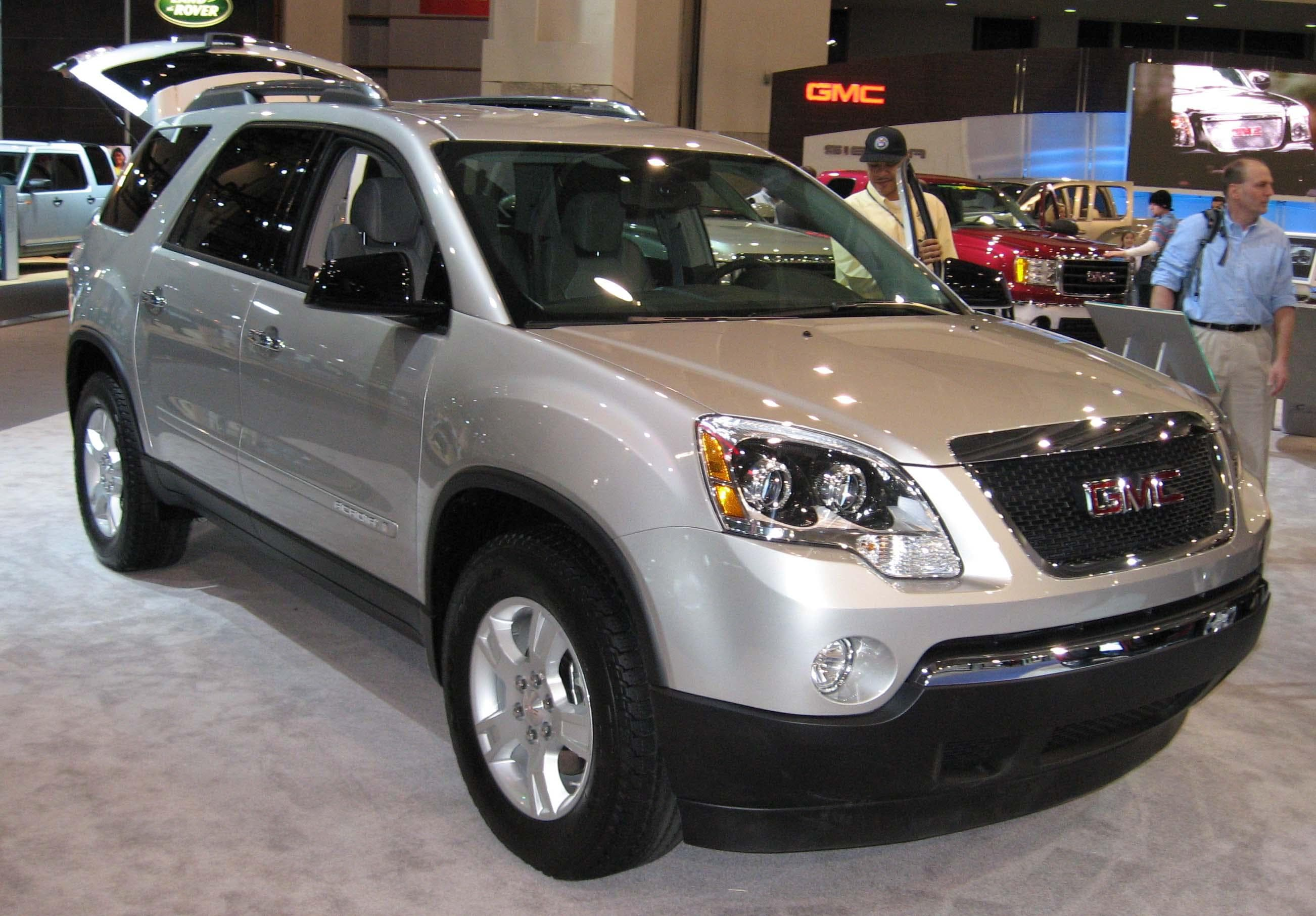 All GMC Models  List of GMC Cars   Vehicles  Page 2  GMC Acadia is listed  or ranked  5 on the list Full List of GMC