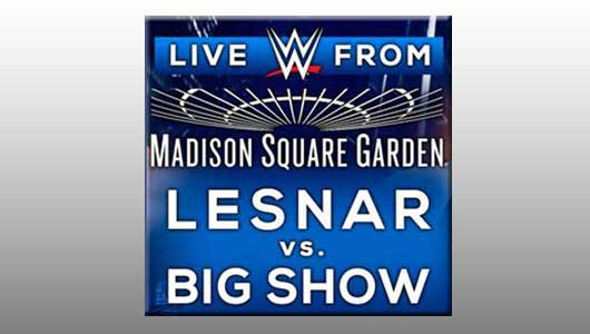 watch wwe live from msg 3/10/15