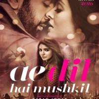 Ae Dil Hai Mushkil (2016)  DVDRIP 1CDRIP x264 695 MB