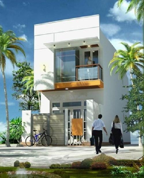 xây nhà, mẫu nhà 2 tầng đẹp