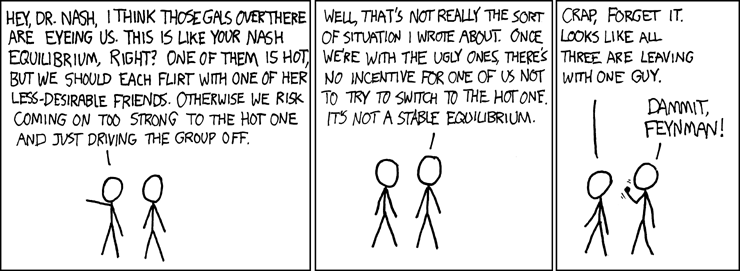 Spelteori: Nash-jämvikt