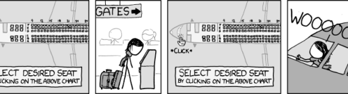 xkcd: Seat Selection
