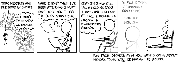 xkcd: Students
