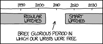 Watches, XKCD
