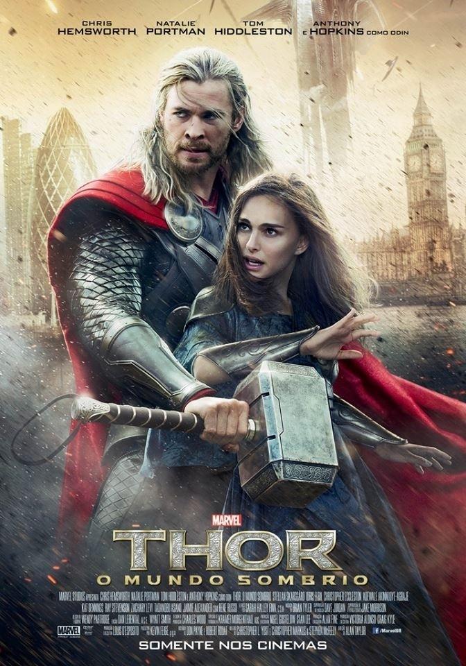 Poster do filme Thor: O Mundo Sombrio