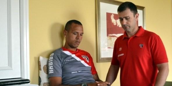 Muricy afirma que Luís Fabiano terá que esperar