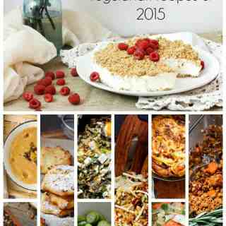 Here are your top 10 vegetarian recipes of 2015 At the Immigrant's Table. Gluten and dairy-free, delicious and healthy.