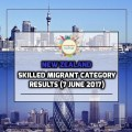 New Zealand Residence Programme – Skilled Migrant Category Results (7 June 2017)