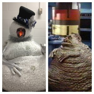 Chet Weird Science And Snowman look alike