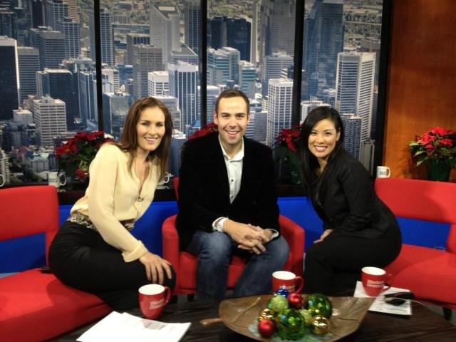 Aisling Tomei, Pearl Tsang Ryan Massel Mr FabCTV Morning Live