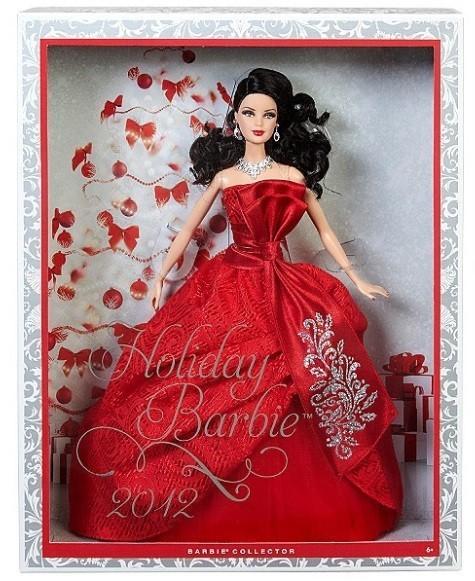Holiday Barbie 2012