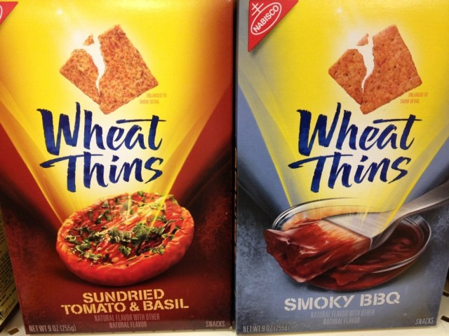 New Flavor Wheat Thins