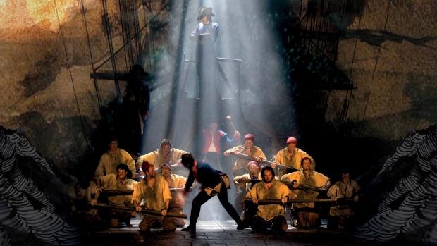 Les Mis Broadway Ship scene