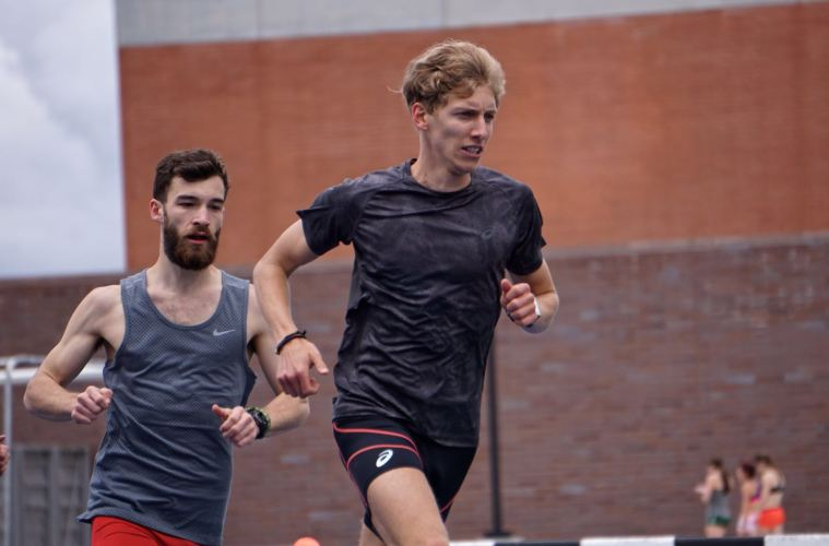 Charles Philibert-Thiboutot a repris l'entrainement. Photo : Courtoisie Samantha Murphy.