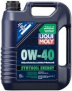 LIQUIMOLY SYNTHOIL ENERGY 0W-40 FULL SYNTHETIC 5 LITER