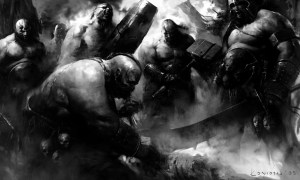Warhammer Quest Ogre Kingdoms Art