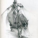Ghostly horseman