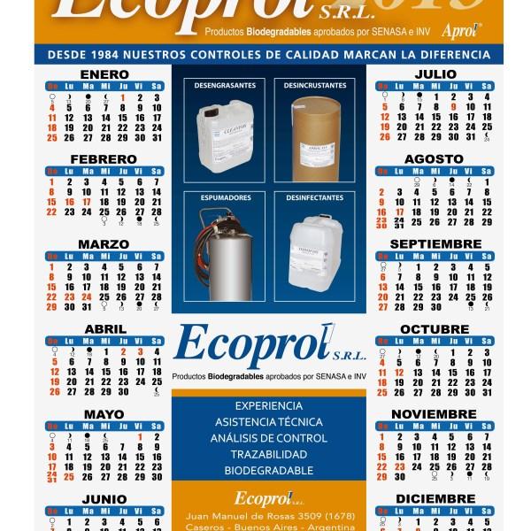 Calendario Ecoprol