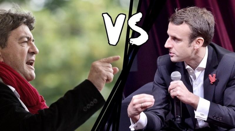 Divergences de définition entre les candidats Mélenchon et Macron