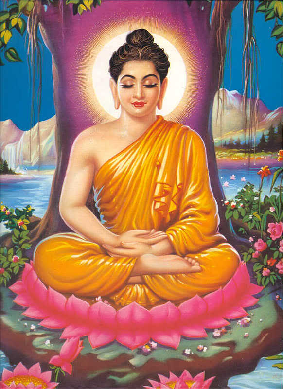 Siddhartha Guatama achieved enlightenment a long, long time ago, and became known as The Buddha.