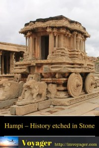 Hampi – History etched in Stone