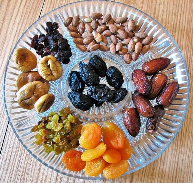 Dry fruits - 6 Survival secrets of a Vegetarian Traveler