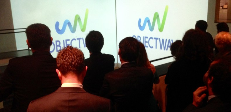 Looking at the new Objectway logo