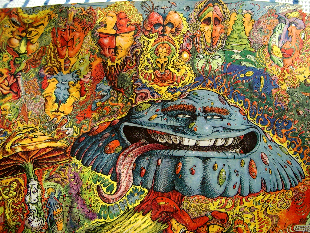 Psychedelic Art A Trip Through Time In5d Esoteric Trippy