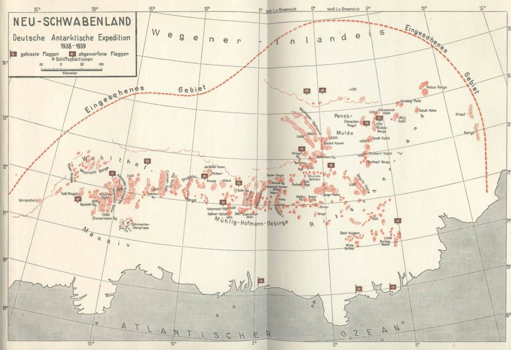 Third Reich Maps of the Inner Earth