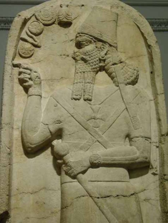 """According to Sumerian records, the wrathful """"God"""" in the Christian Epic """"Genesis"""" was in fact an Anunnaki king named Enlil, who was weary of the his brother Enki's genetic creation of mankind. Enlil worried that humanity would grow and eventually revolt against him, and so, Enlil ordered the destruction of mankind by disease and natural disasters."""