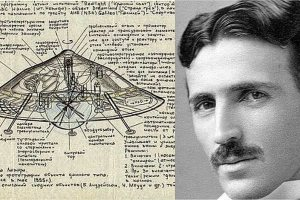 Tesla's Amazing UFO That You Never Knew About