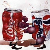 Meksika'da şamanlar insanları tedavi için kullandıkları ritüeller içerisinde Coca Cola kullanmaya başlamış, bunu öğrenen Pepsi ise şamanlara Pepsi kullanmaları durumunda komisyon ödemeyi önermiştir. Coca Cola da aynı şeyi önerince kullandıkları iki farklı kola tipine göre rakip şaman grupları oluşmuştur.