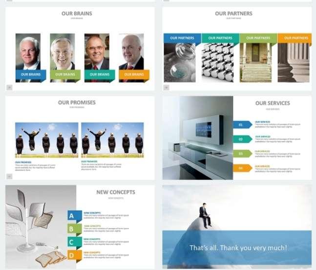 Keynote шаблоны с премиум дизайном 2017