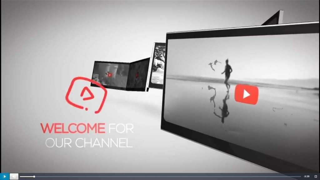 Как сделать свою заставку на ютуб канал 33